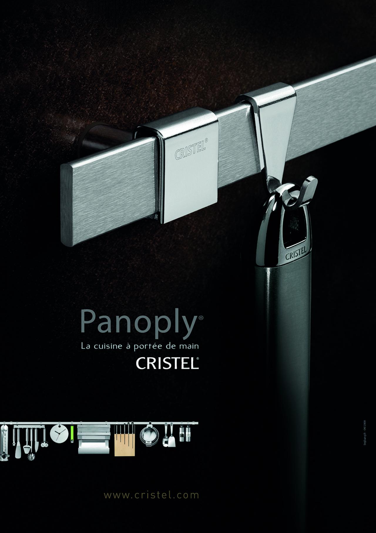 Cristel, annonce presse panoplie