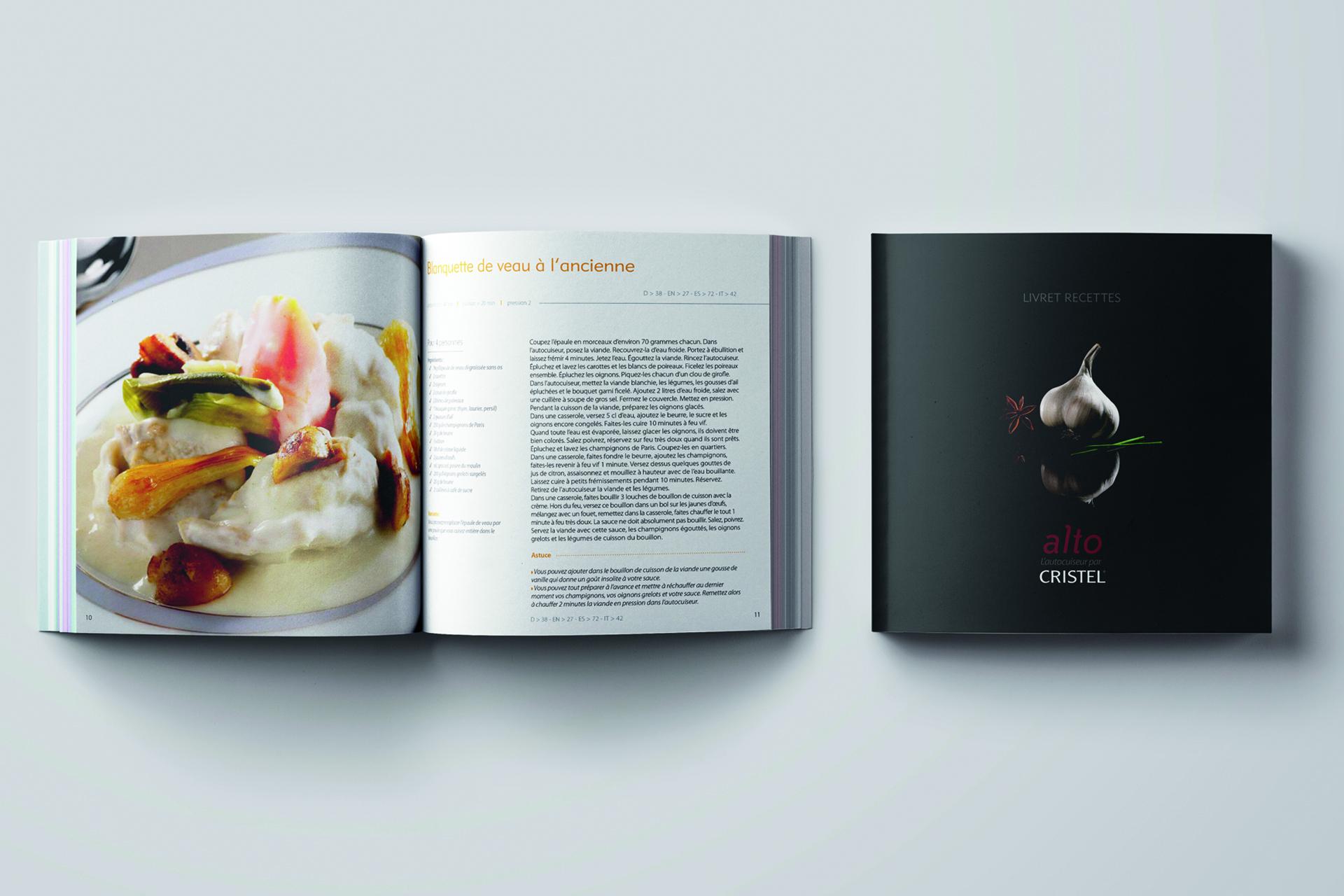 Cristel, le livre de recettes