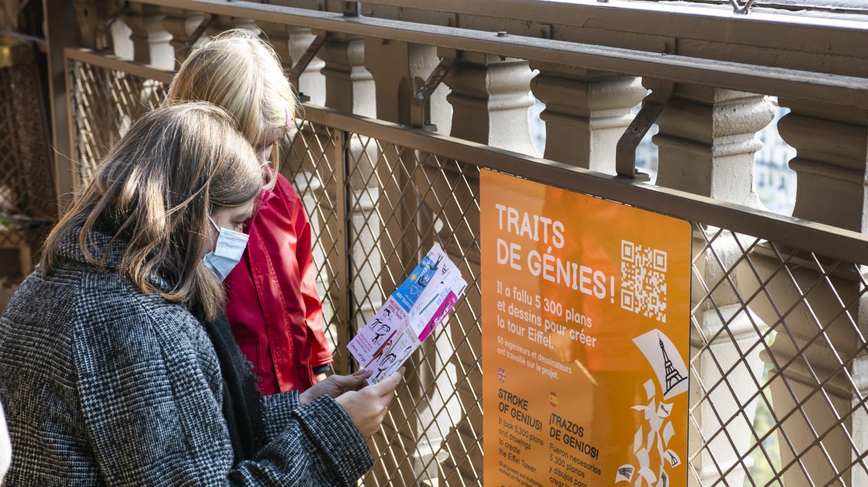 Tour Eiffel : le parcours Eiffel Kids
