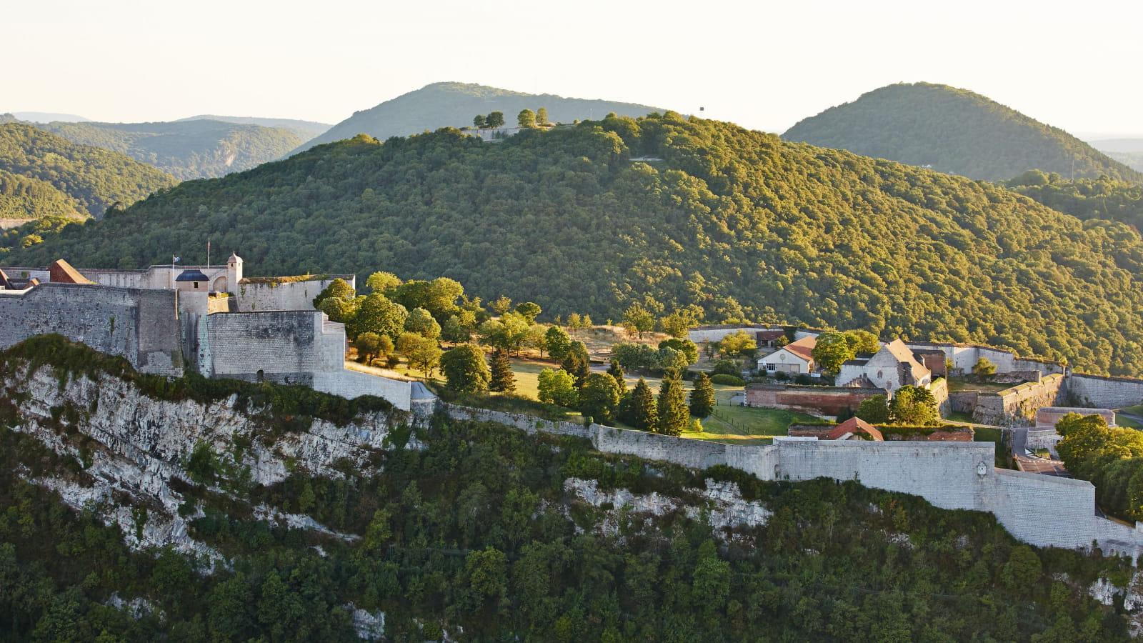 La citadelle de Besançon par Vauban