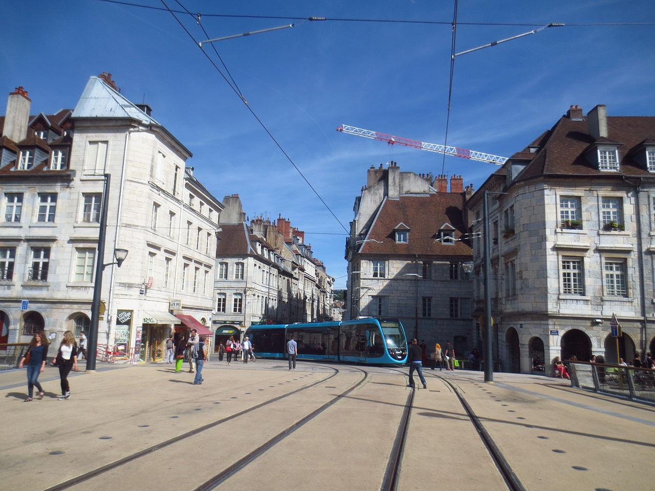 tram besancon